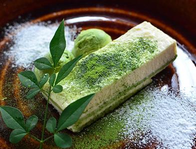 Tofu tiramisu